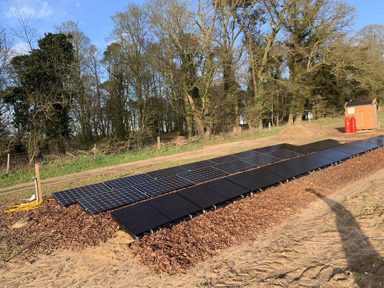 Upgrade To The Thornton S Glamping Site 10kw Off Grid Solar System Off Grid Installer